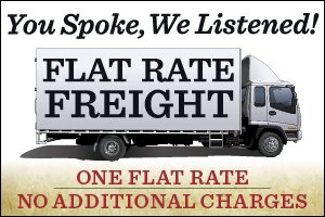 Flat Rate Freight