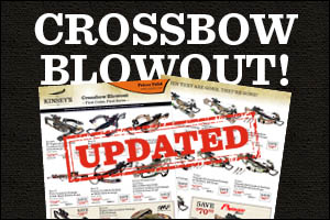 Crossbow Blowout Sale